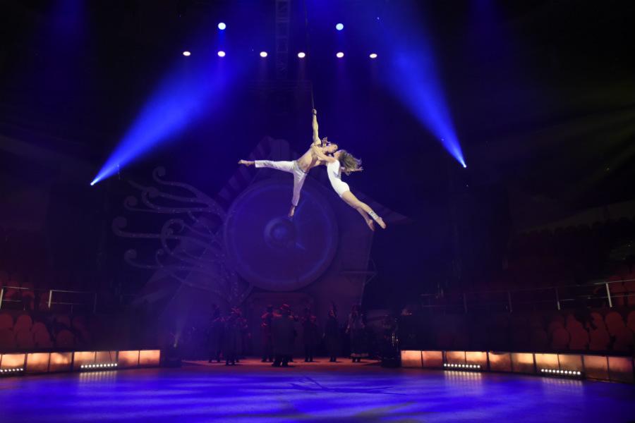 'Cuento de Navidad' se representa en el Circo Price de Madrid