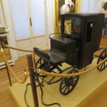Coche de juguete del Museo del Romanticismo