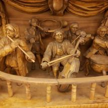 Músicos en Belén checo