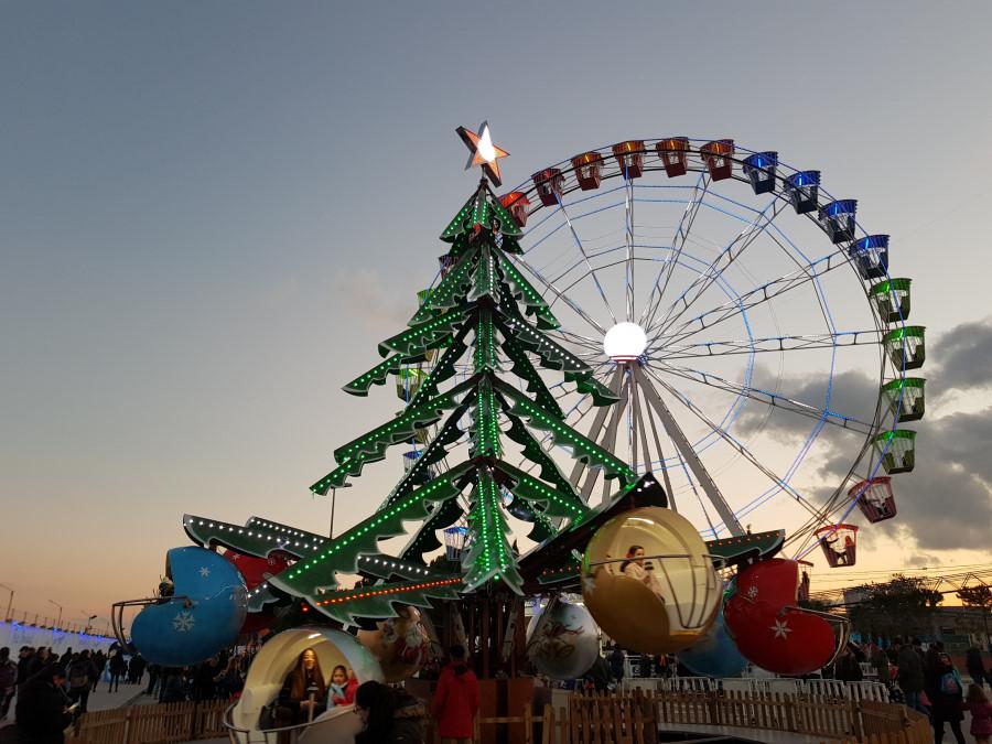 Decoración navideña en Torrejón de Ardoz, 2018-2019