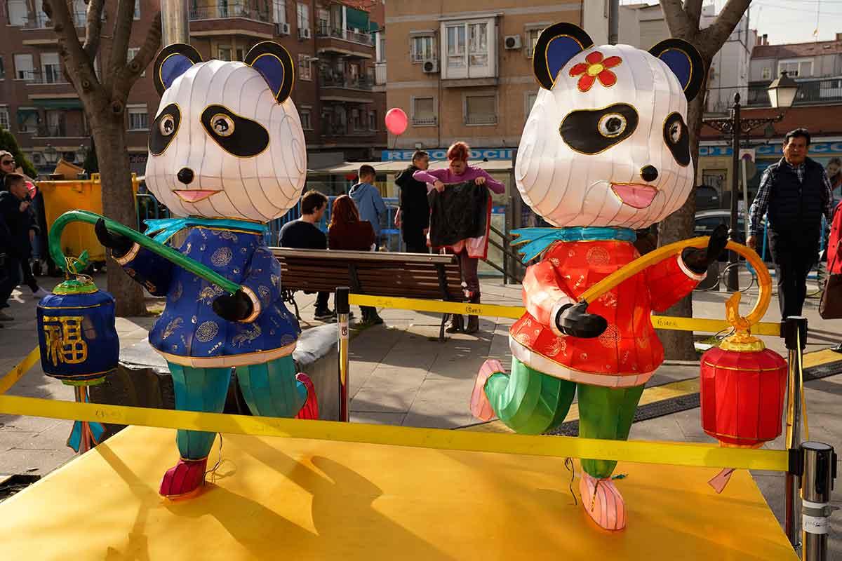 Año nuevo chino Usera