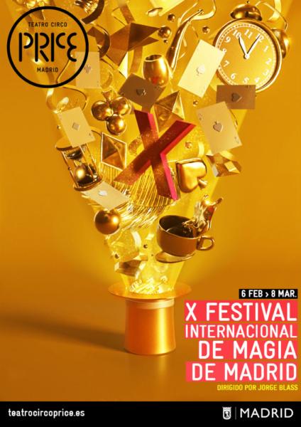 Cartel del Festival Internacional de Magia de Madrid