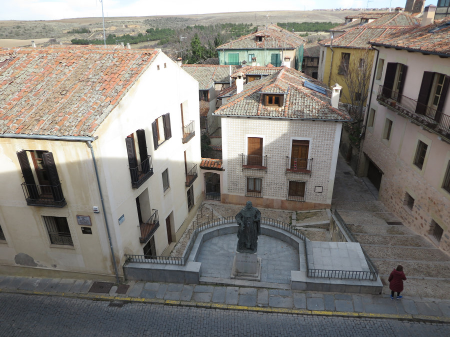 Casa Museo de Antonio Machado, en Segovia