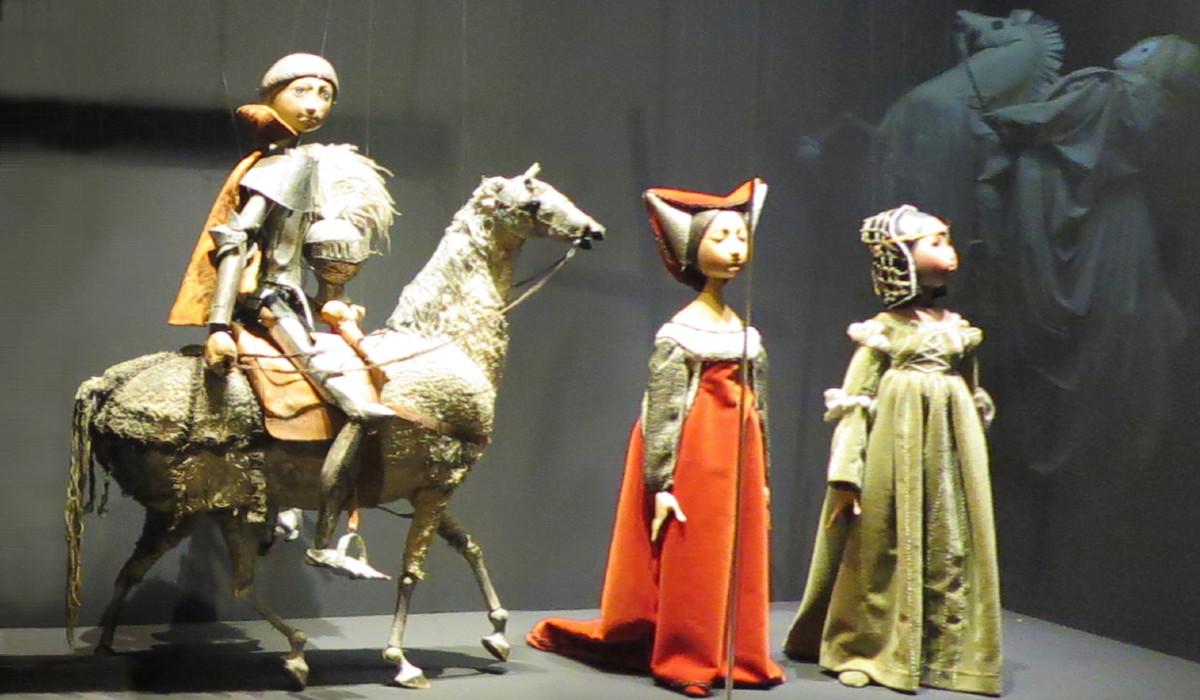 Títeres del museo de marionetas de Segovia