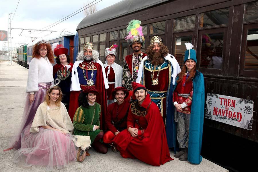 Tren de la Navidad de Madrid