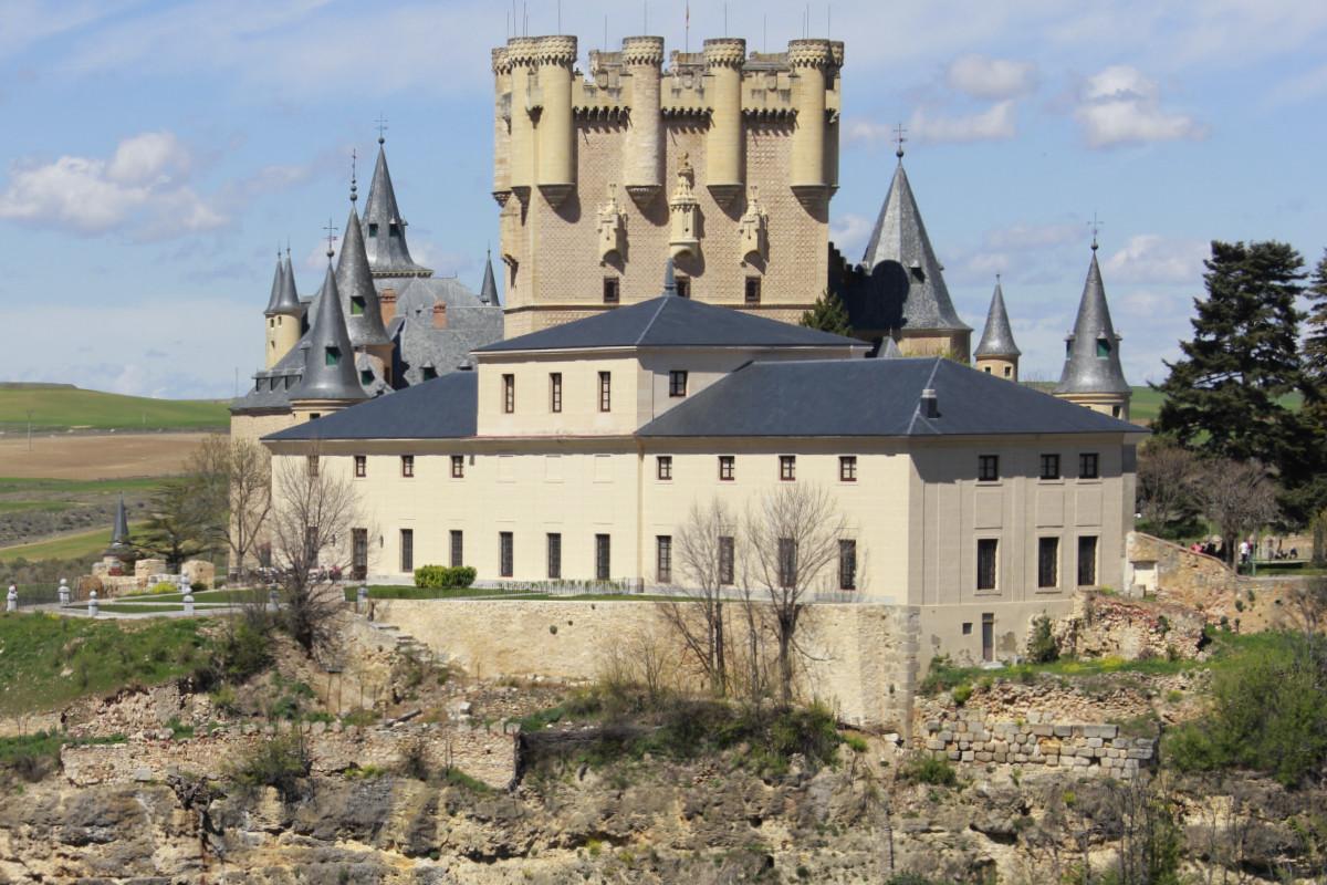 Vista del Alcázar de Segovia
