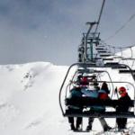 Remonte en una pista de esquí de Grand Valira