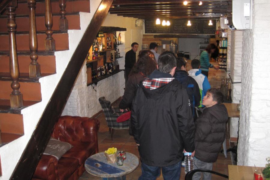 El local de Mür Café es muy acogedor