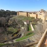La judería de Segovia se encuentra junto a la parte sur de su muralla