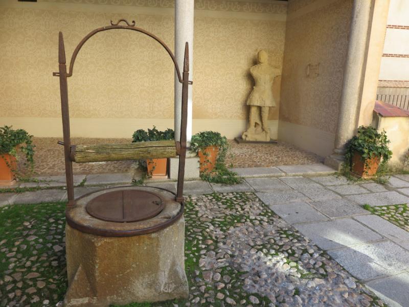 Patio del centro didáctico de la judería de Segovia