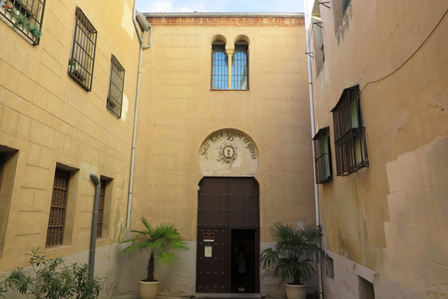 Sinagoga mayor de la judería de Segovia