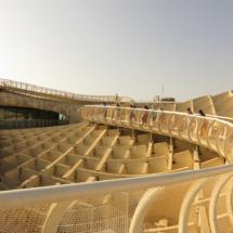 Ésta es la estructura de madera más grande del mundo: Setas de Sevilla