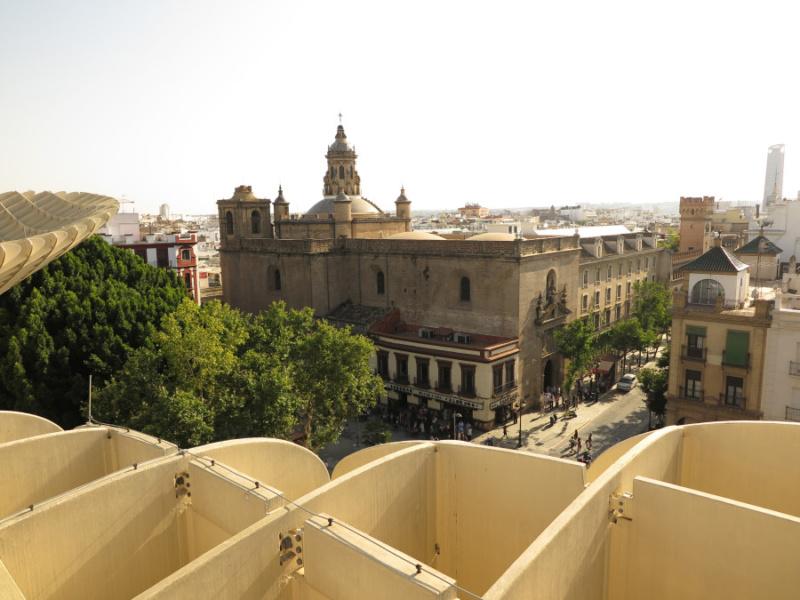 Panorama desde las Setas de Sevilla