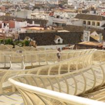 Setas de Sevilla o Metropol de madera
