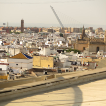 Vistas desde las Setas de SevillaVistas desde las Setas de Sevilla