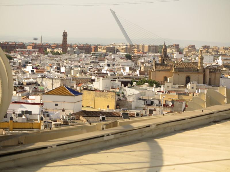 Vistas desde las Setas de Sevilla