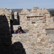 Detalle de la muralla de Ávila