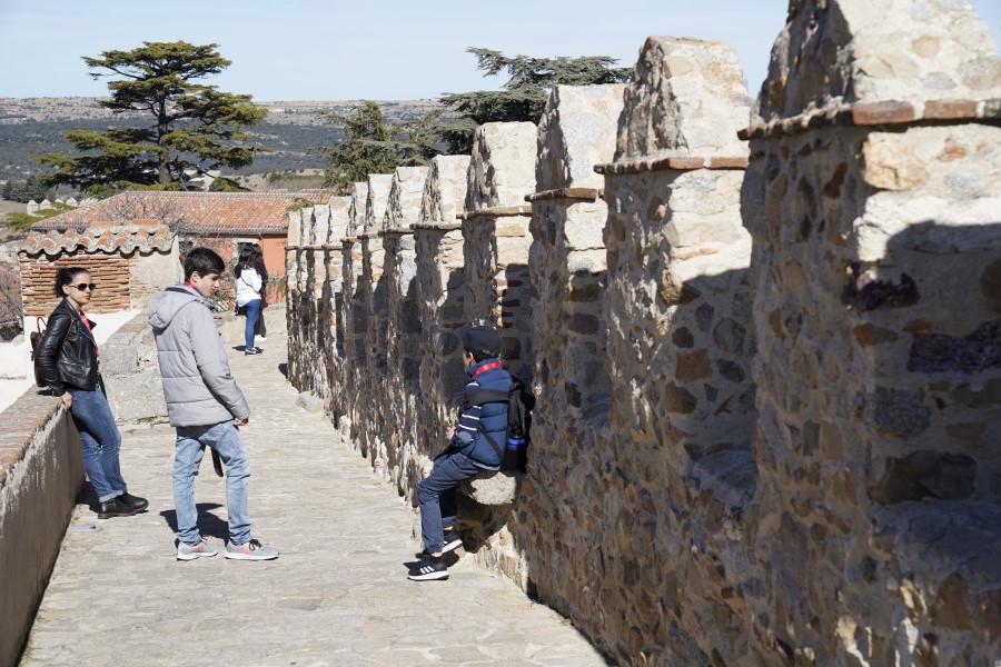 Camino de Ronda de la muralla de Ávila