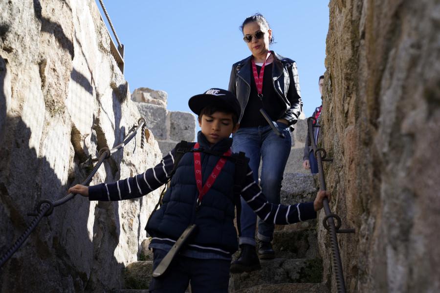 Recorremos la muralla de Ávila con los peques