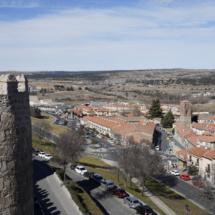 Vista de las Murallas de Ávila