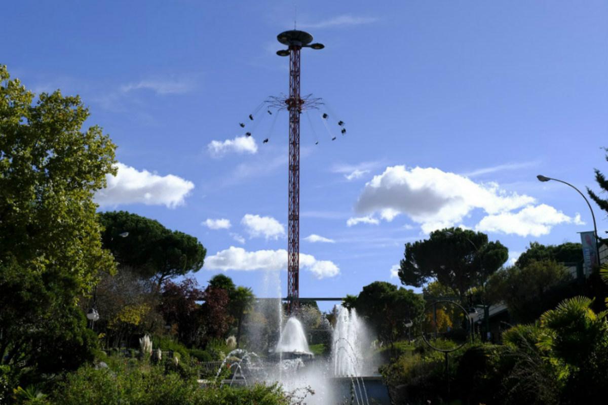 Imagen del Parque de Atracciones de Madrid