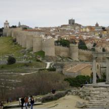 Vista de los Cuatro Postes de Ávila