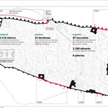 Plano de la Muralla de Ávila