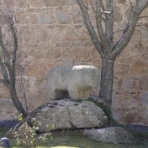 Verraco de la muralla de Ávila