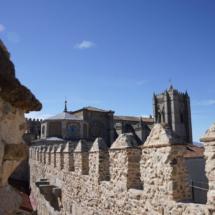 Catedral de Ávila desde las Murallas