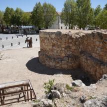 Restos del castillo de Villarejo de Salvanés