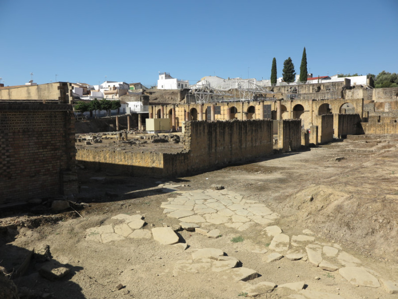 Ruinas de Itálica, en Sevilla