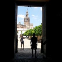 Vista de la Giralda de Sevilla