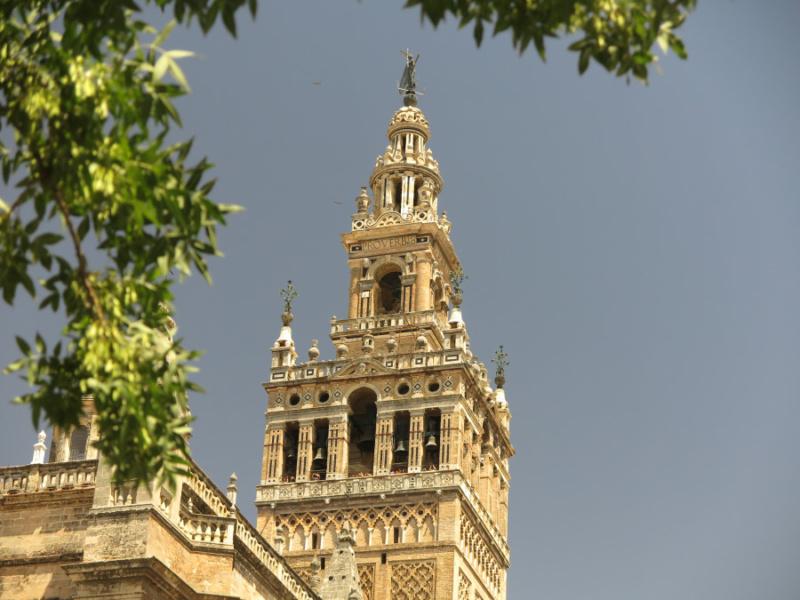 Detalle de la Giralda de Sevilla