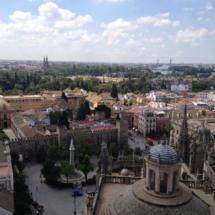 Vista de Sevilla desde la Giralda