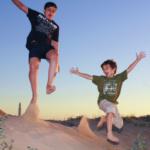 25 planes con niños para el mes de agosto