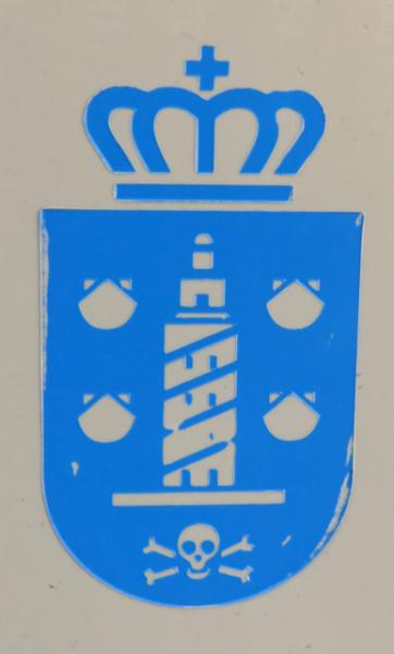 La Torre de Hércules está presente en el escudo de la capital coruñesa