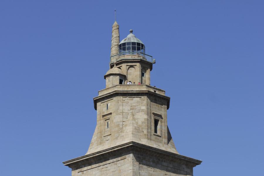 Terraza de la Torre de Hércules