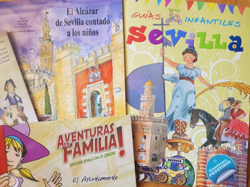 Libros sobre el Alcázar de Sevilla para niños