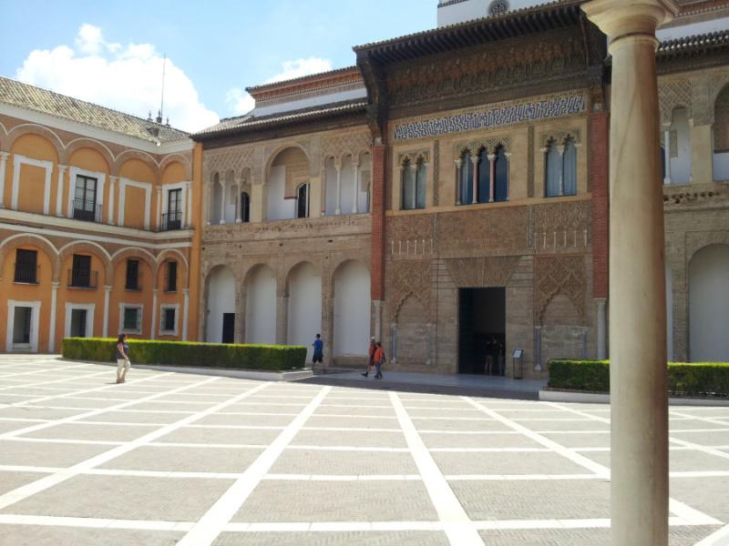 Palacio de Pedro I en el Alcázar de Sevilla