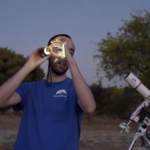 Actividad de Astroafición, con peques