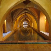 Baño de María de Padilla, en el Alcázar de Sevilla