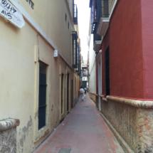 Calle del barrio de Santa Cruz