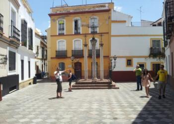 Calle de las Cruces de Sevilla
