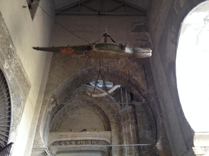 Detalle curioso de la Catedral de Sevilla
