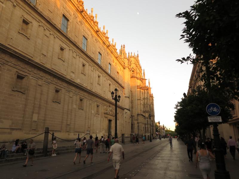 Fachada de la Catedral de Sevilla