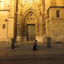 Puerta de la Catedral de Sevilla