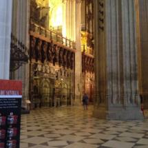 Detalle de las capillas de la Catedral de Sevilla