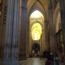 Nave de la Catedral de Sevilla