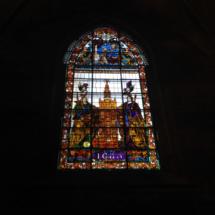 Vidriera de la Catedral de Sevilla