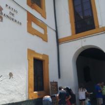 Entrada al barrio de Santa Cruz